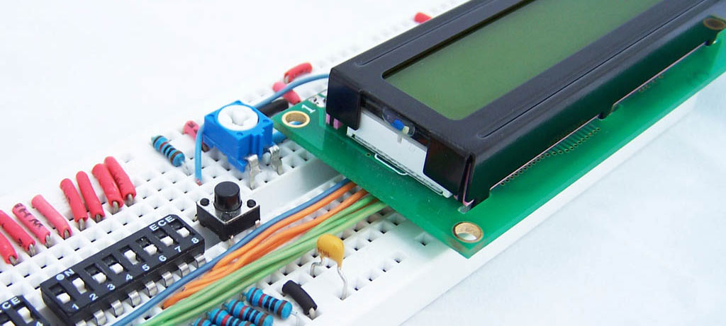 HD44780 Character LCD Displays - Part 1 - Protostack